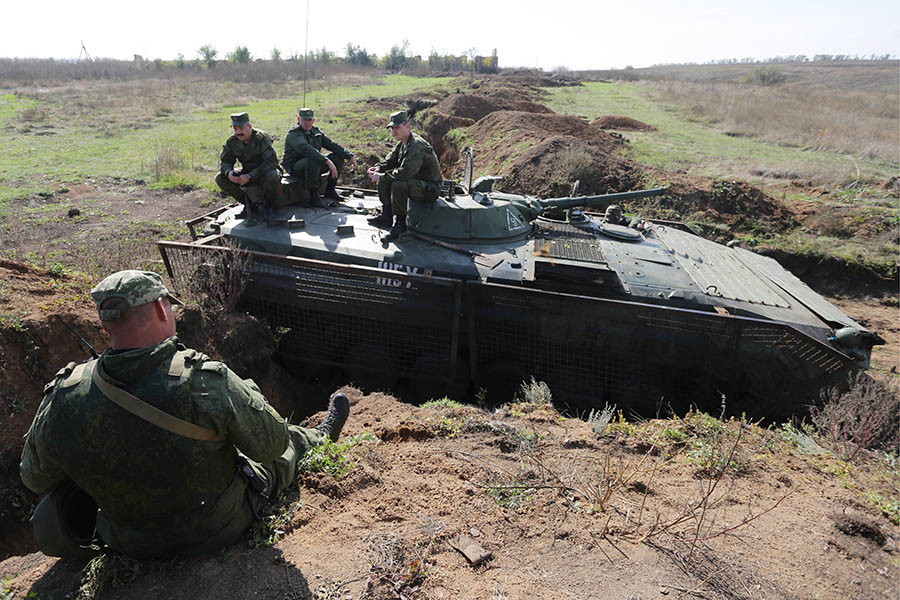 Отвод войск в Донбассе. 07 октября 2016