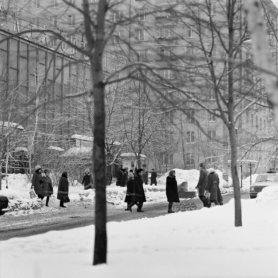 Улица Марии Ульяновой. 1978 год