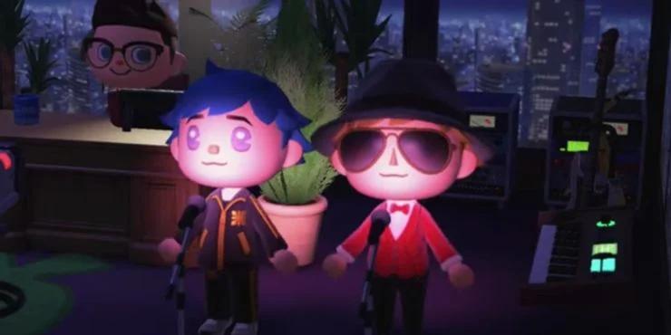 Солист Gorillaz и музыкант Beck в Animal Crossing