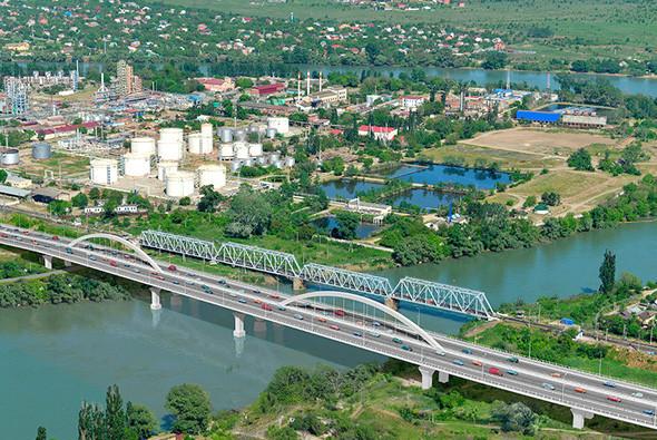 Фото: Проект дублера Яблоновского моста