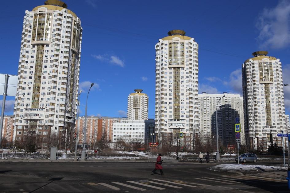 Жилые дома в Марьине