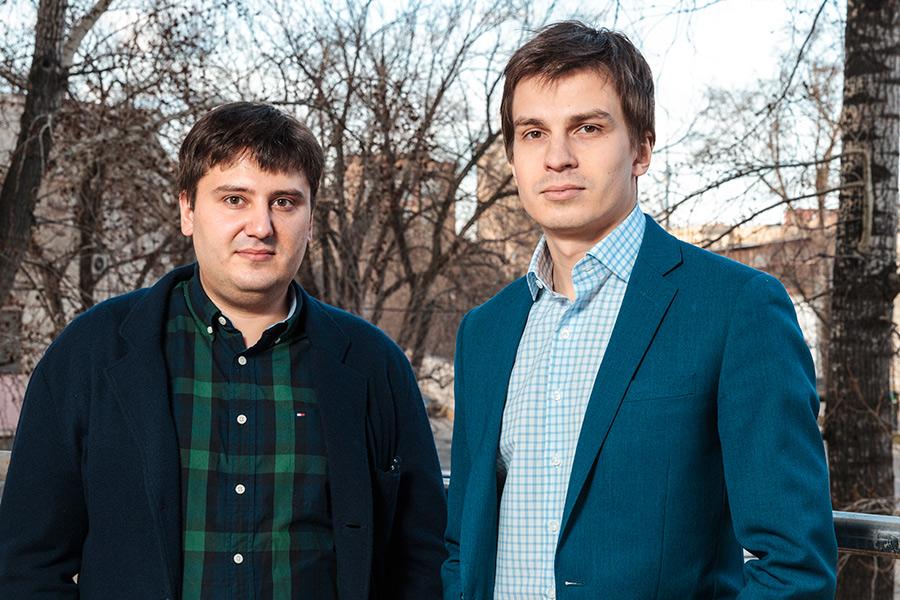 Яков Филиппенко и Леонид Шангин (справа)