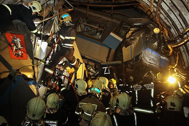 Авария в московском метро, произошедшая в июле 2014 года, привела к гибели 24 человек