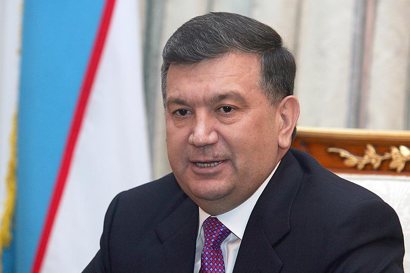 Премьер-министр Узбекистана Шавкат Мирзиёев