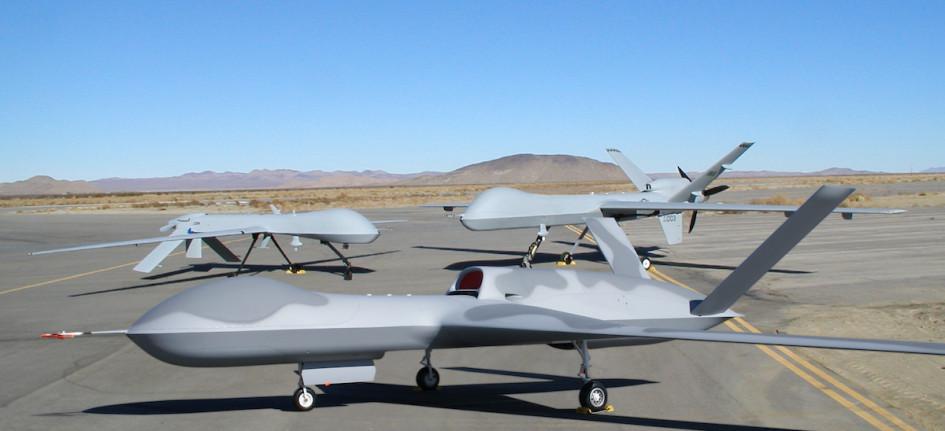 Predator, Reaper и Avenger на заводе по производству дронов