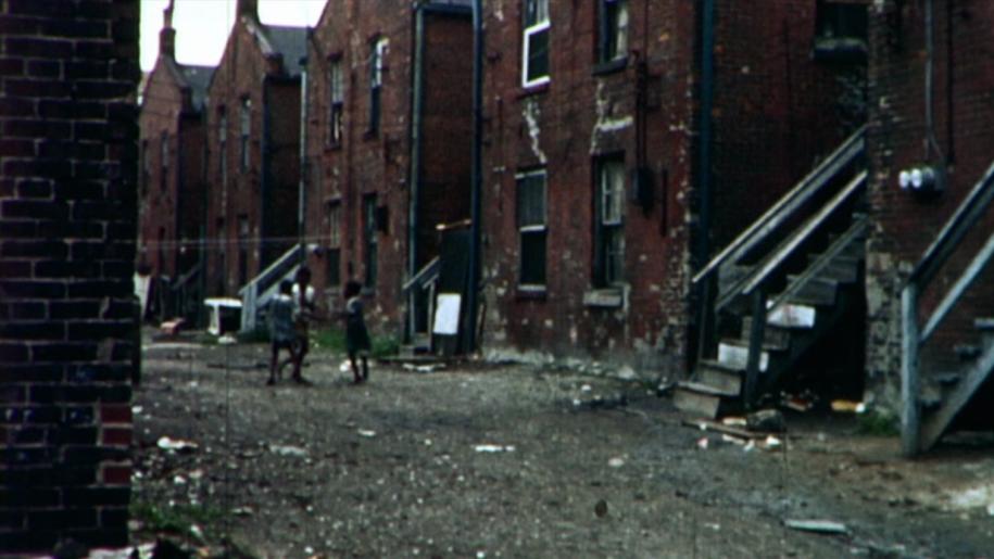 На месте будущего типового квартала были трущобы бедняков