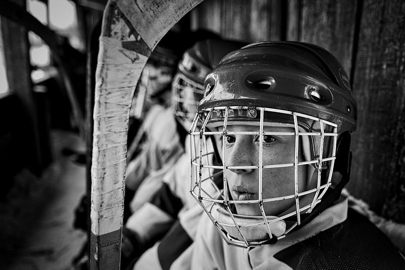 Фотография Владимира Песни изфоторепортажао хоккейном клубе «Ветлуга»