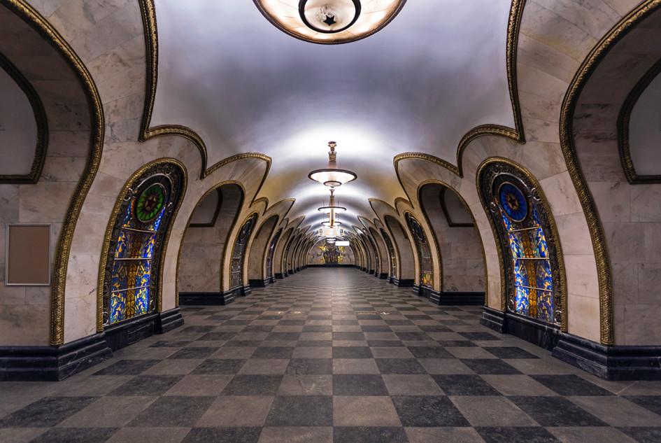 Станция «Новослободская», Кольцевая линия