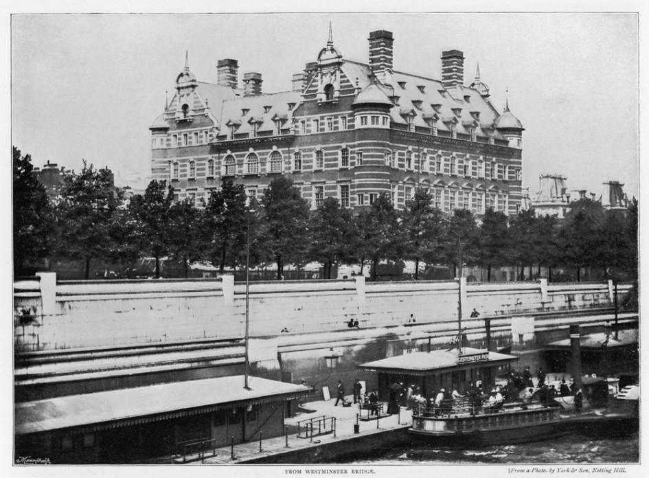 Первая штаб-квартира Скотленд-Ярда