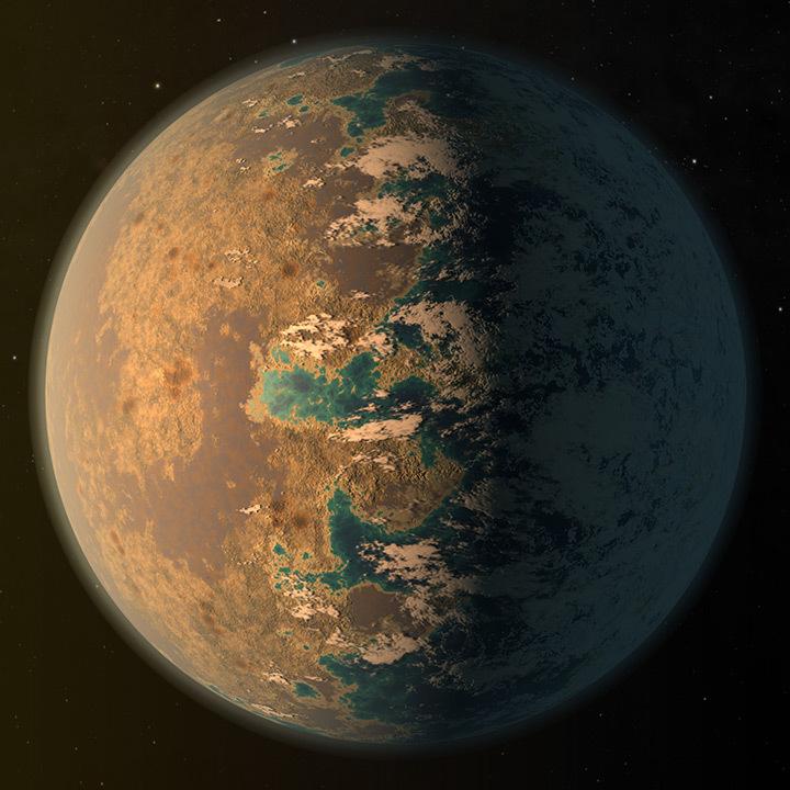 Экзопланета TRAPPIST-1 d