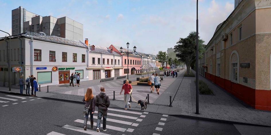 Проект благоустройства Школьной улицы
