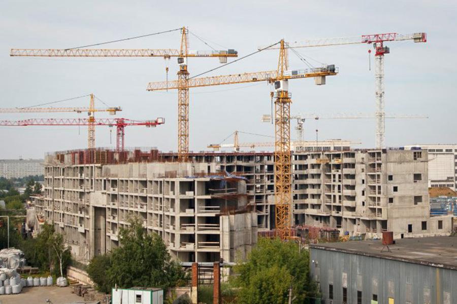 Строительство ЖК «Царицыно-2». Июль 2017 года