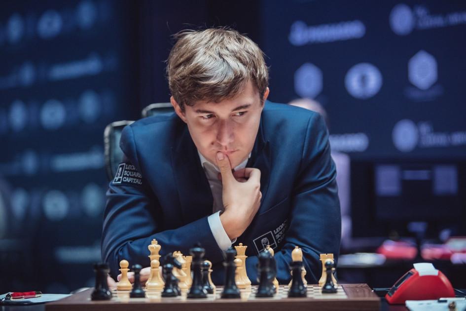 Участник матча за титул чемпиона мира по шахматам 2016 года Сергей Карякин
