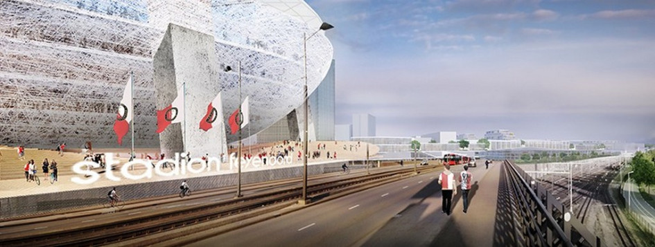 Визуализация проекта нового стадиона«Фейеноорд»
