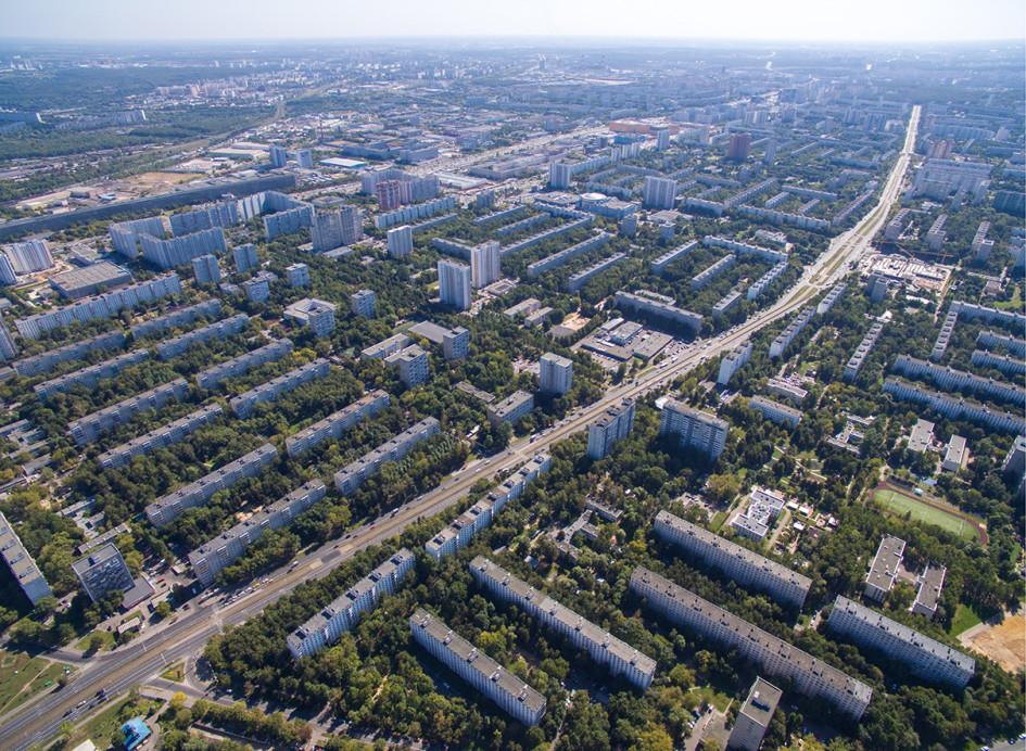 Вид на Чертановскую улицу