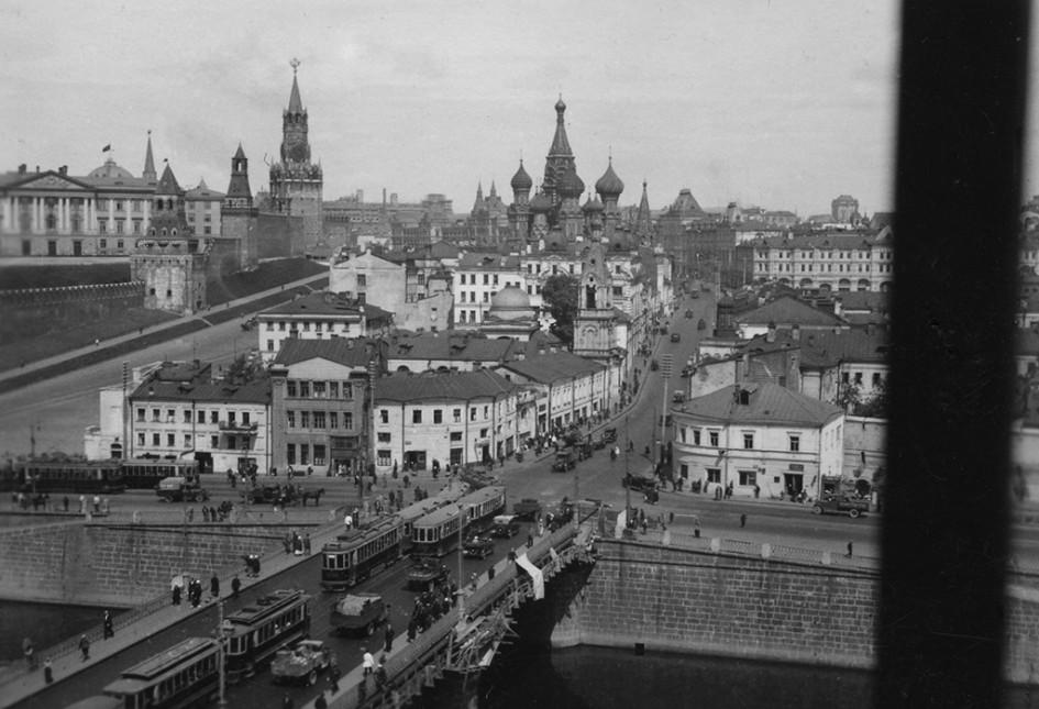 Москворецкий мост. 1920-е годы