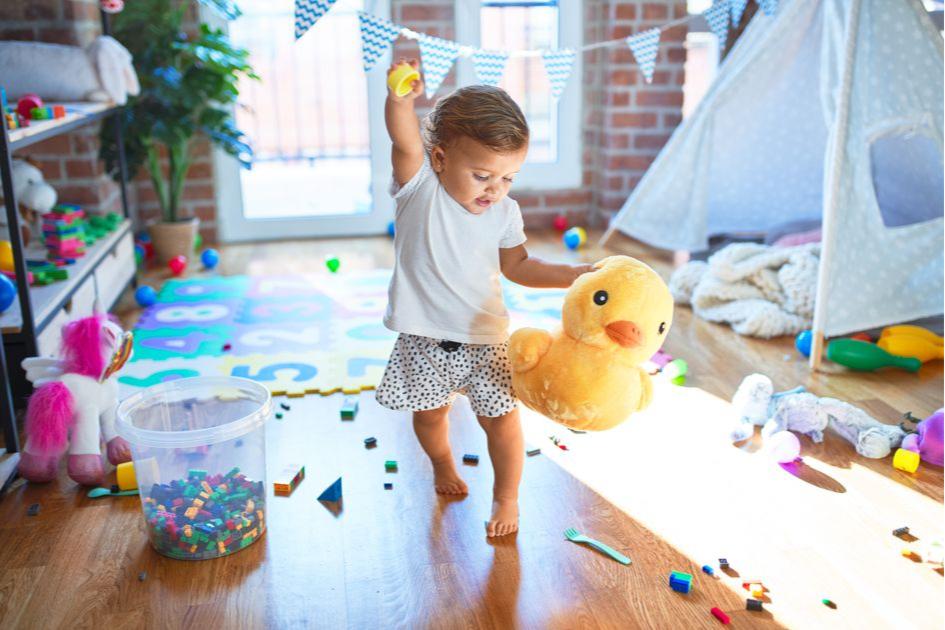 Составьте список перед планированием дизайна детской