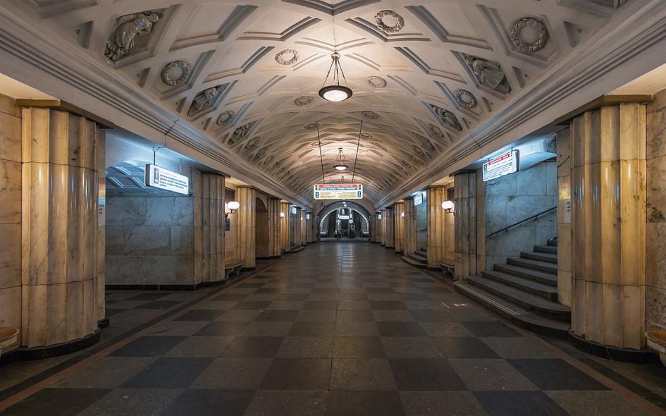 Станция«Театральная», Замоскворецкая линия