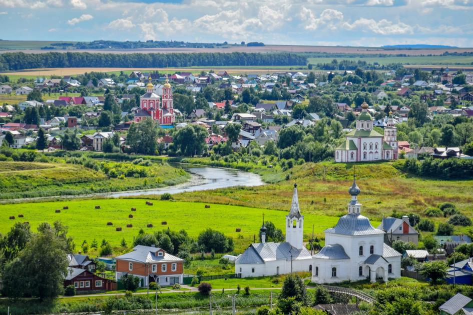Виды Суздаля Владимирской области