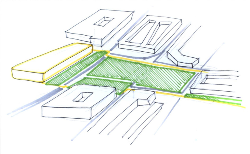 Проект озеленения Лубянской площади