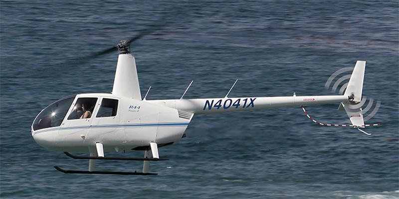 Вертолет Robinson44