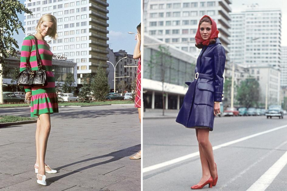 Манекенщицы на проспекте Калинина, 1969 год