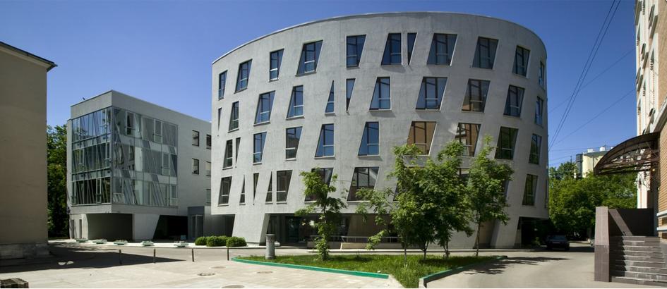 Из портфолио АБ «Остоженка»: жилой комплекс в Борисоглебском переулке. 2004 год