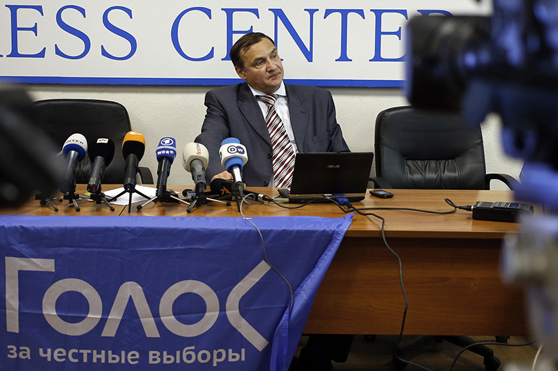 Ведущий эксперт ассоциациидвижения в защиту прав избирателей «Голос»Андрей Бузин. Архивное фото