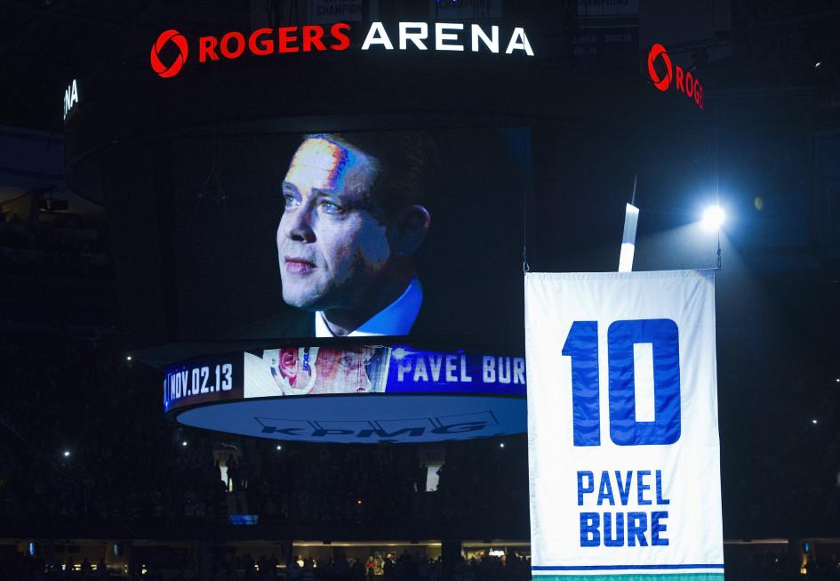 2 ноября 2012 года. Ванкувер. Церемония чествования Павла Буре