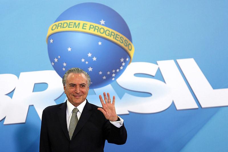 Вице-президент Бразилии Мишел Темер