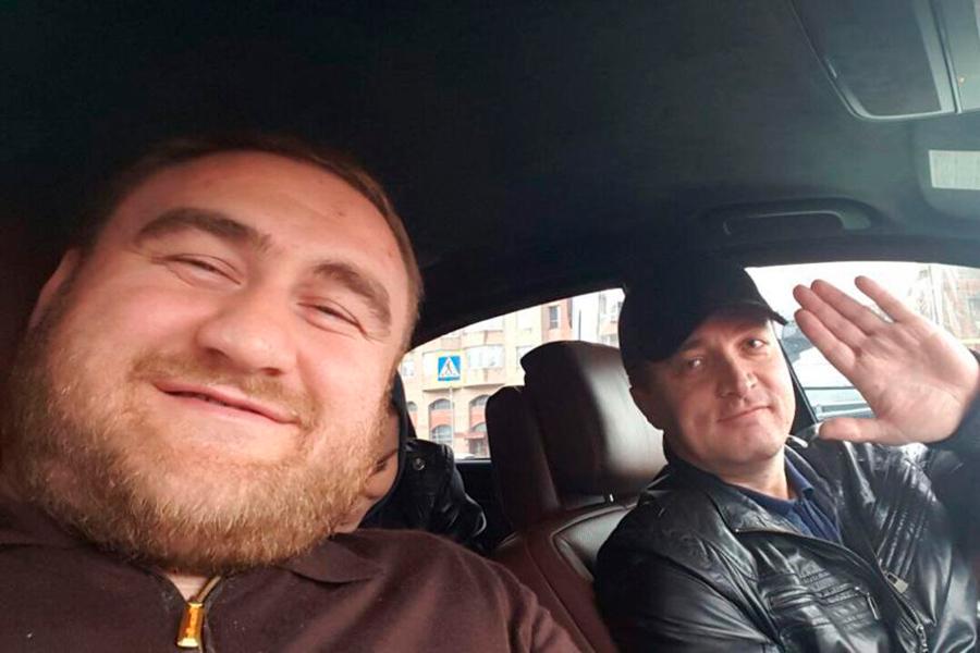Рауф Арашуков и Тимур Бетуганов