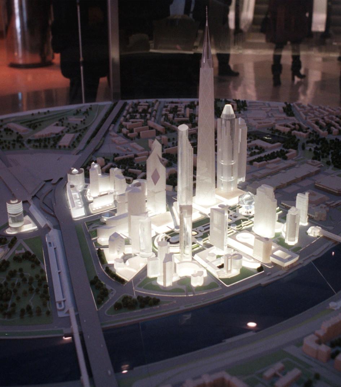 В центре высотного района изначально задумывался парк. Фото 1998г.