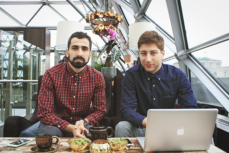 Предприниматели Артур Хачатрян и Максим Сатлер