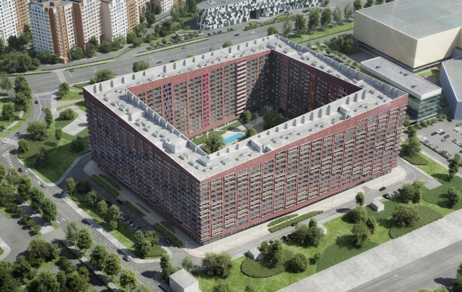 Западный комплекс апартаментов Лайнер