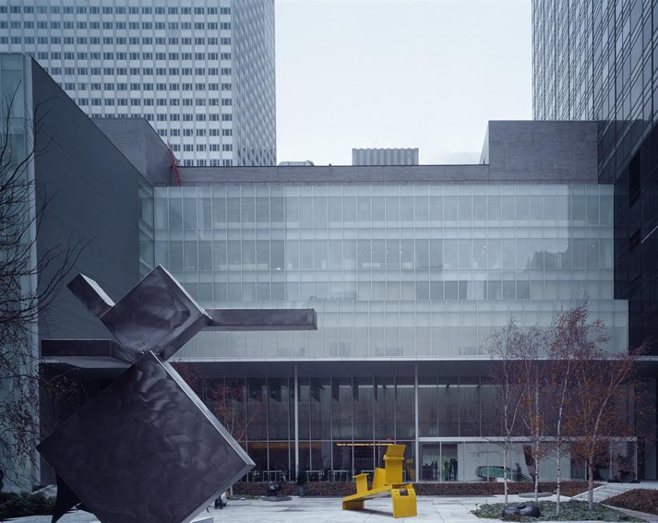 Музей современного искусства на Манхеттене в Нью-Йорке