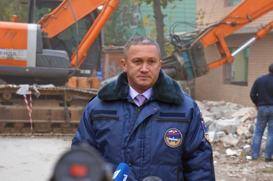По словам заместителя председателя правительства Московской области Германа Елянюшкина, следующее здание, которое пойдет под снос, находится в Видном - незаконный жилой дом здесь начнут разбирать уже на следующей неделе. Еще через неделею - в Балашихе и далее по списку