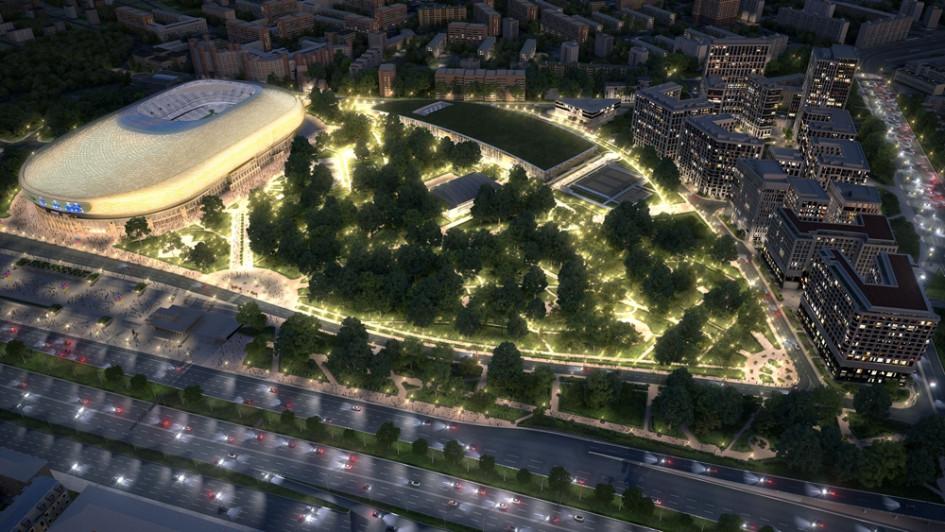 ВТБ Арена – Центральный стадион «Динамо»