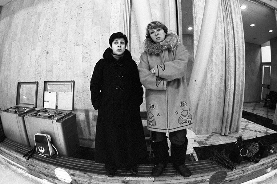 Ирина Роднина и Татьяна Тарасова, 1979 год