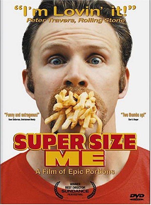 Постер Supersize Me