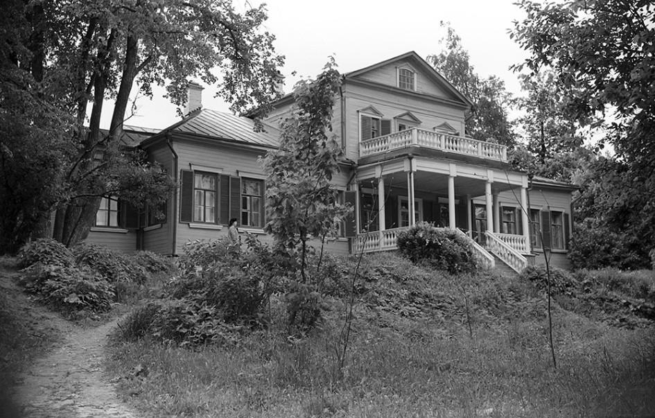 Музей-усадьба писателя Сергея Аксакова в Абрамцево, 1950 год