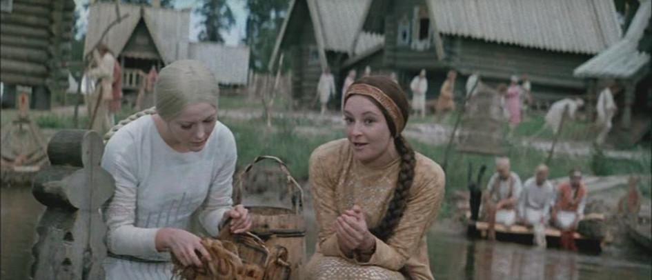 Кадр из к/ф «Снегурочка». Режиссер П. Кадочников. 1968 год