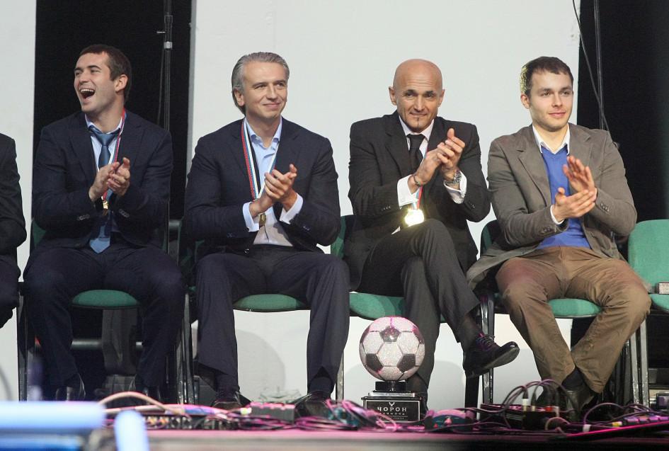 Фото: Александр Кержаков, Александр Дюков, Лучиано Спаллети (Фото: Global Look Press)