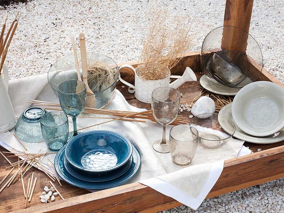 Посуда морской тематики