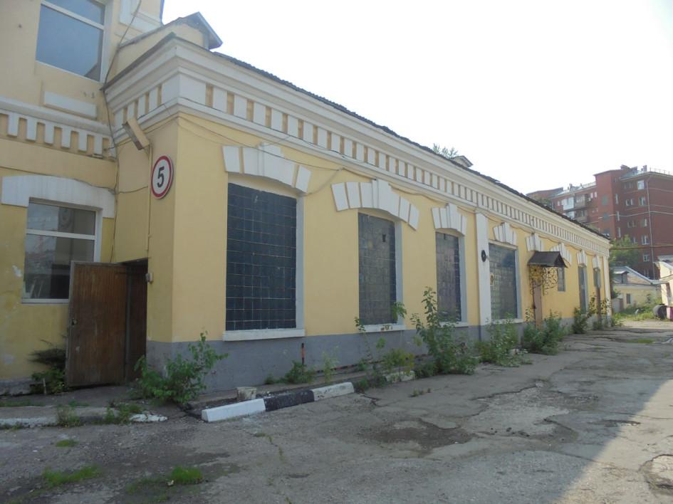 Один изкорпусов трамвайного депо вБеговом районе Москвы