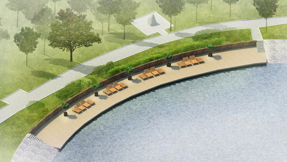 Проект благоустройстваБратиславского парка