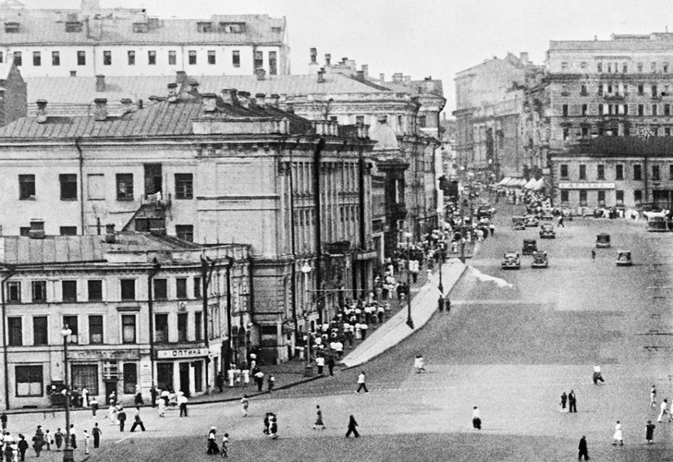 Москва, 1930 год
