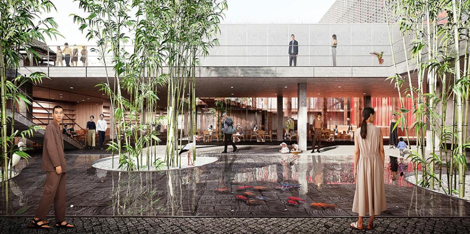 Иммерсивный театр в г. Кайфын в Китае