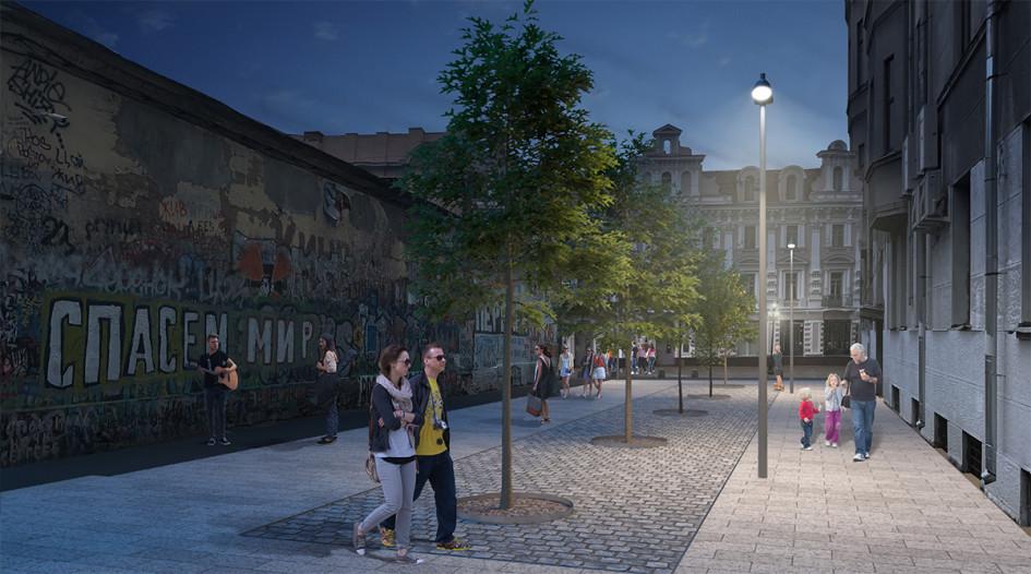 Фото: «Концепция комплексного благоустройства арбатских переулков»