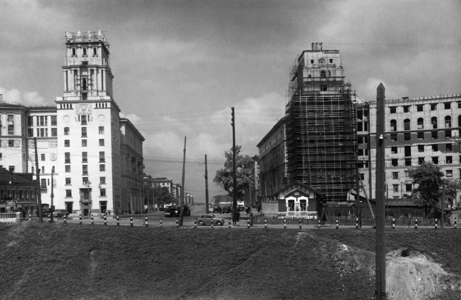 Большая Калужская улица. 1950 год