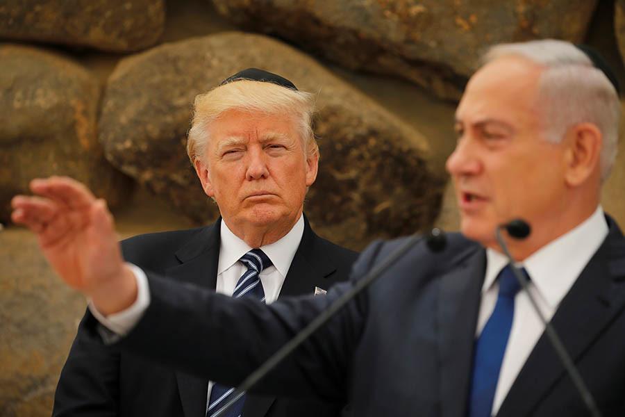 Дональд Трамп иБиньямин Нетаньяху